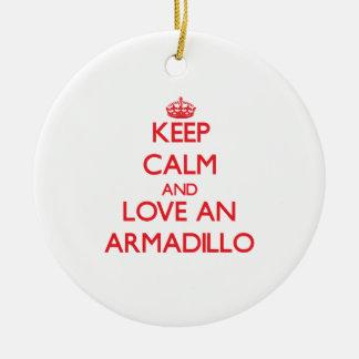 Armadillo Christmas Tree Ornament
