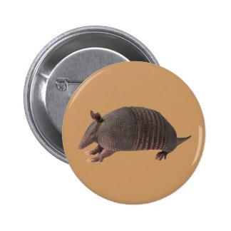 Armadillo plain button