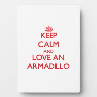 Armadillo Display Plaques