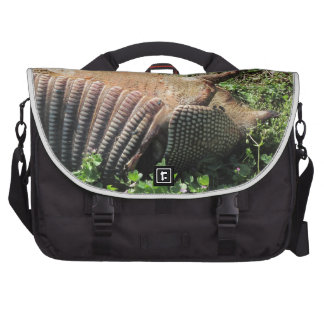Armadillo Road Kill - Dasypodidae Laptop Messenger Bag