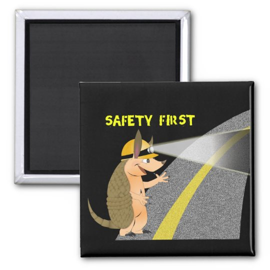 Armadillo Safety First Magnet