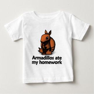 Armadillos ate my homework baby T-Shirt