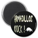 Armadillos Rock! Magnet