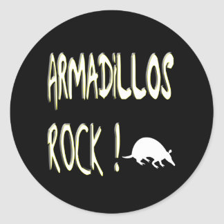 Armadillos Rock Sticker