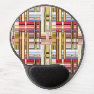 Armadura abstracta de colores alfombrilla de raton con gel