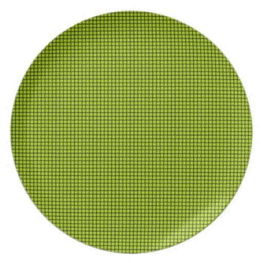 Armadura - amarillo fluorescente platos