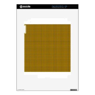 Armadura - ámbar iPad 2 calcomanías