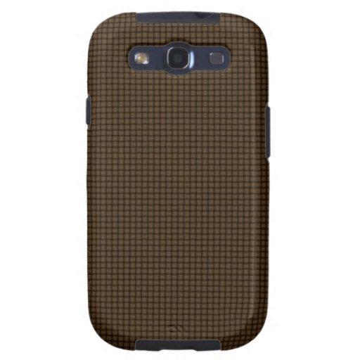 Armadura - Brown oscuro Galaxy S3 Protectores