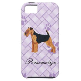 Armadura de Airedale Terrier Lavendar iPhone 5 Case-Mate Protectores
