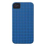 Armadura de cesta azul iPhone 4 cárcasa