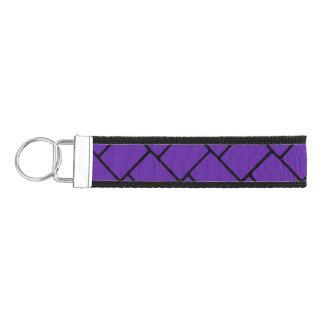 Armadura de cesta de la púrpura real 2 llavero de pulsera