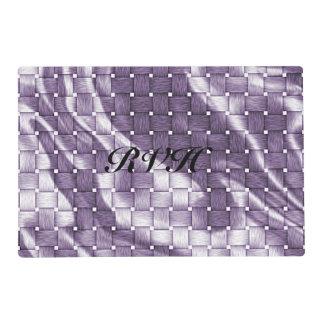 Armadura de cesta púrpura adaptable clásica salvamanteles