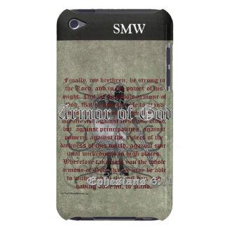 Armadura de dios, 6:10 de Ephesians - 18, soldado  iPod Touch Case-Mate Fundas