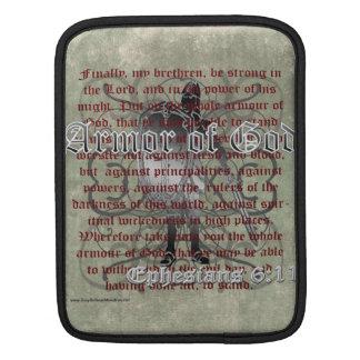 Armadura de dios, 6:10 de Ephesians - 18, soldado  Funda Para iPads