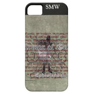 Armadura de dios, 6:10 de Ephesians - 18, soldado Funda Para iPhone SE/5/5s