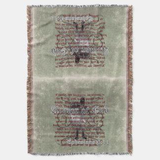 Armadura de dios, 6:10 de Ephesians - 18, soldado Manta