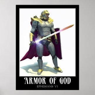 Armadura de dios poster