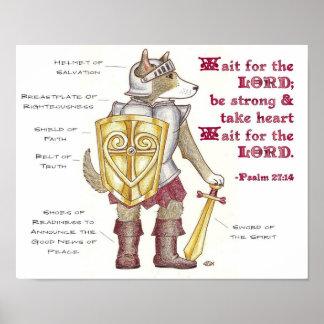Armadura de dios póster