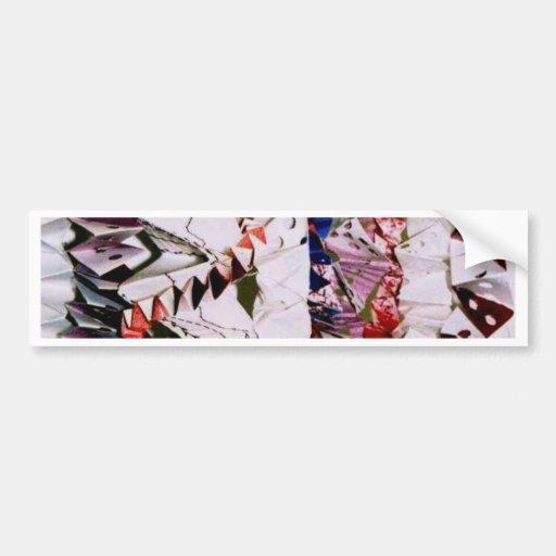 Armadura de Origami Etiqueta De Parachoque