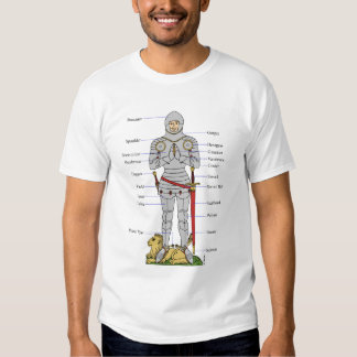Armadura de placa, circa 1430, camiseta remera