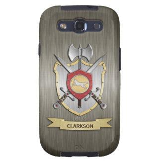 Armadura de Sigil del escudo de la batalla del lob Samsung Galaxy S3 Protectores