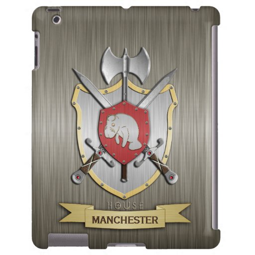 Armadura de Sigil del escudo de la batalla del Man