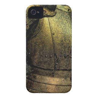 Armadura del caballero medieval iPhone 4 Case-Mate cárcasas