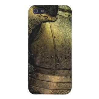 Armadura del caballero medieval iPhone 5 funda