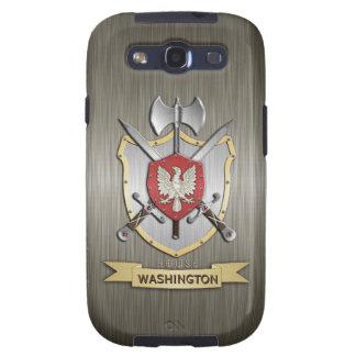 Armadura del escudo de la batalla de Eagle Sigil Galaxy S3 Cárcasa