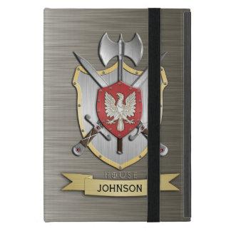 Armadura del escudo de la batalla de Eagle Sigil iPad Mini Cárcasa