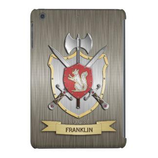 Armadura del escudo de la batalla de Sigil de la Fundas De iPad Mini