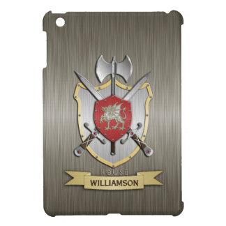 Armadura del escudo de la batalla de Sigil del dra iPad Mini Cobertura