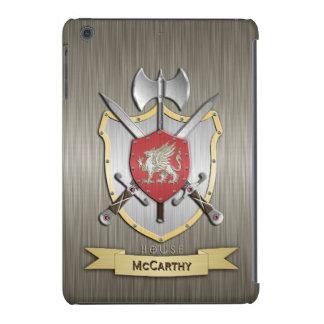 Armadura del escudo de la batalla de Sigil del Funda De iPad Mini