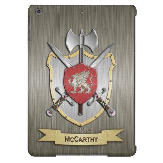 Armadura del escudo de la batalla de Sigil del Funda Para iPad Air