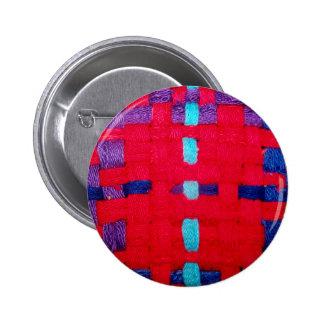 Armadura del rojo púrpura y azul pin
