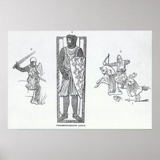 Armadura del siglo XIII Impresiones