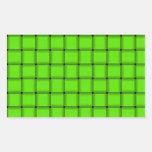 Armadura grande - verde clara rectangular altavoz