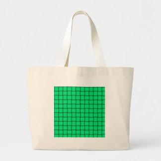 Armadura grande - verde de la primavera bolsa de mano