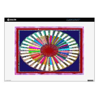 Armadura perfecta del arco iris - inspirada por el calcomanía para 38,1cm portátil