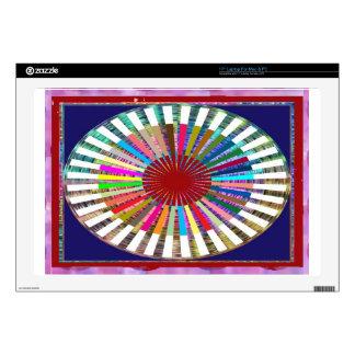 Armadura perfecta del arco iris - inspirada por el portátil 43,2cm skins