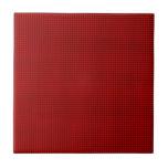 Armadura - rojo azulejo