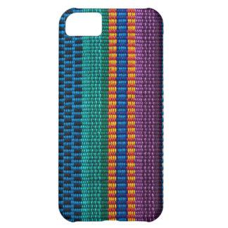 Armadura tradicional de la tela de Guatemala Carcasa iPhone 5C