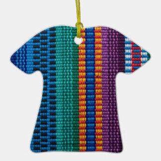 Armadura tradicional de la tela de Guatemala Adorno Para Reyes
