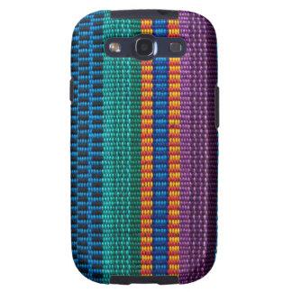 Armadura tradicional de la tela de Guatemala Galaxy SIII Protectores
