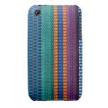 Armadura tradicional de la tela de Guatemala iPhone 3 Case-Mate Cobertura