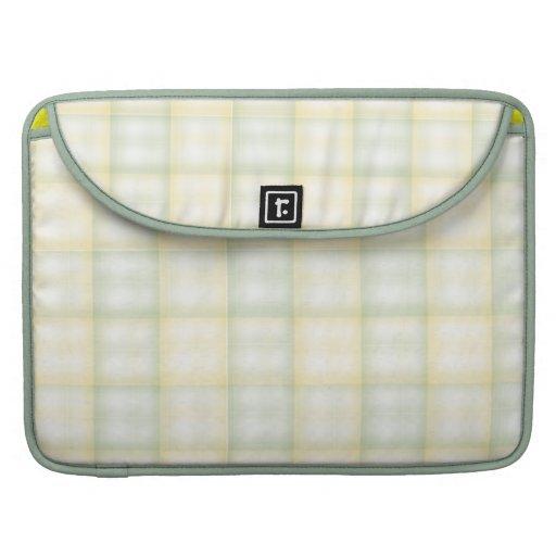 Armadura verde y amarilla fundas para macbook pro