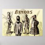 Armaduras medievales poster