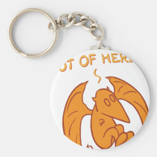 Armageddin Out Of Here Key Chains