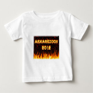 Armageddon 2012 fire and flames. baby T-Shirt