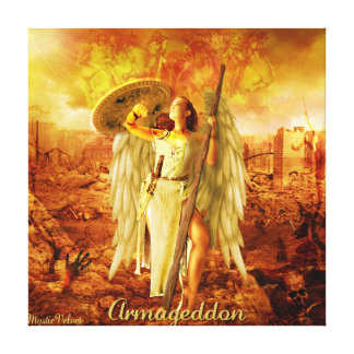 Armageddon Impresión En Lona Estirada